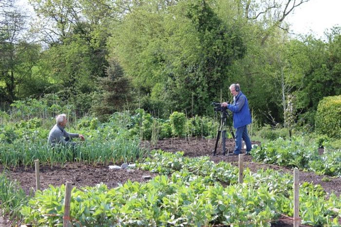 Website Filming No Dig Organic Gardening