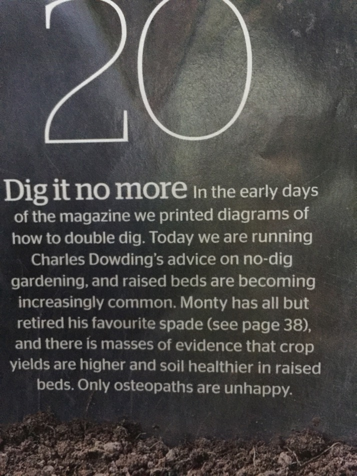 No. 20 of Gardeners World 25 'key moments'