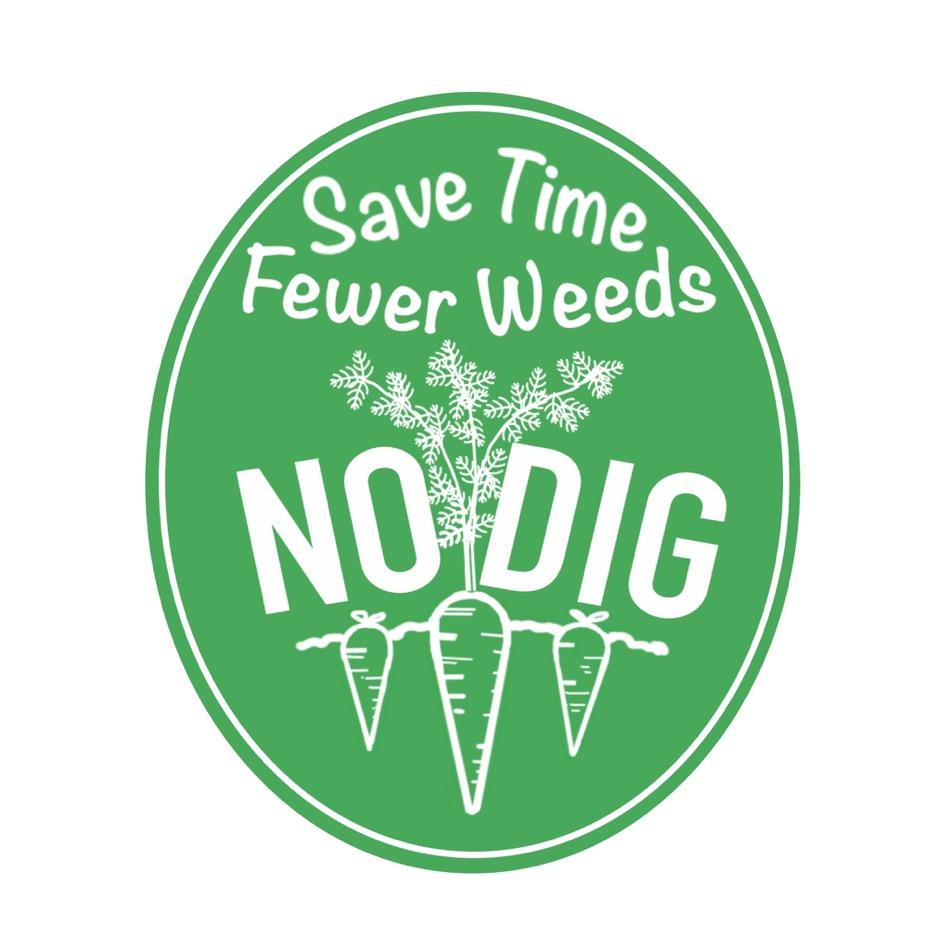 Logo for no dig gardening, February 2016