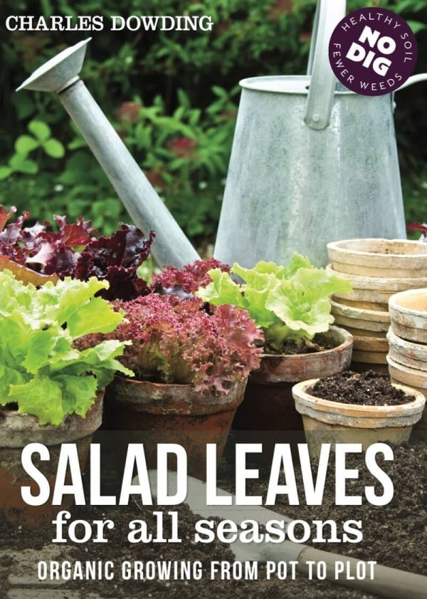 Book cover Salad Leaves Charles Dowding