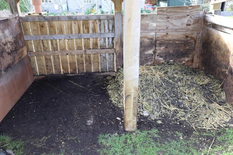 New compost heap
