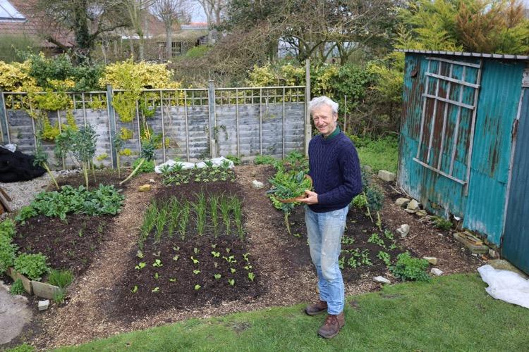 Equinox harvests small garden